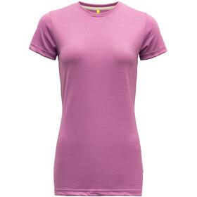 Devold Eika T-shirt Femme, iris